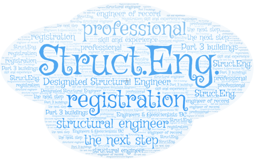Struct.Eng. Registration with Engineers and Geoscientists B.C.